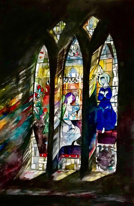 East Hull church window