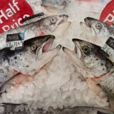 Offers on the fish counter