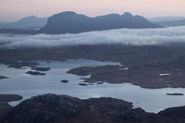 Suilven & Loch Sionascaig from Stac Pollaidh