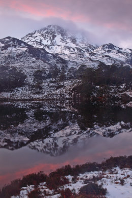 Winter Sunrise, Sgùrr Dubh