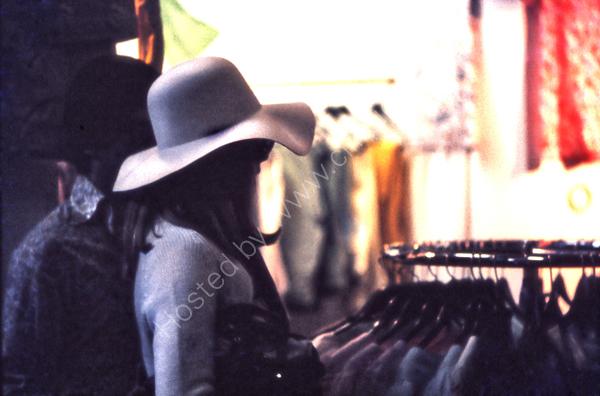 Girl in white hat, Kensington Market