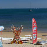 Paddle board and oars, Cascais
