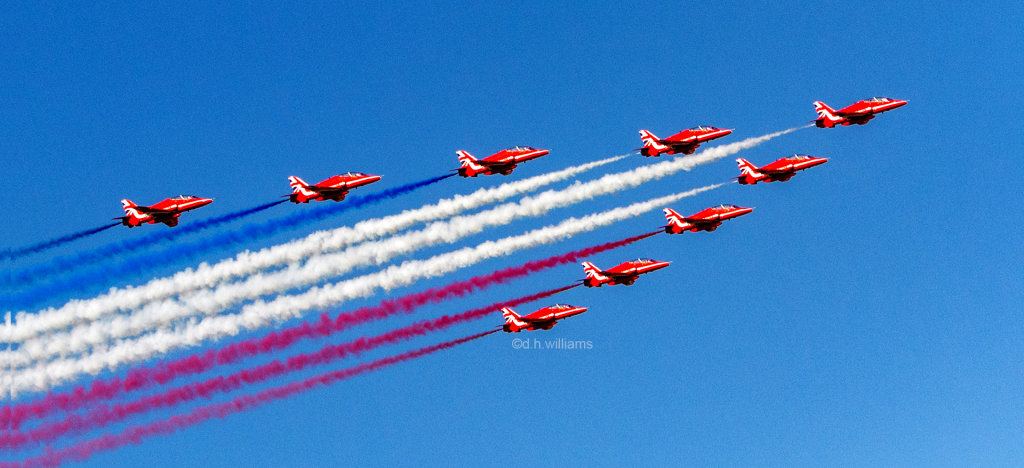 The Red Arrows Airobatic Team