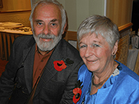 Dave & Tricia at their 75th birthday party