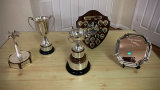 The Annual Competition trophies
