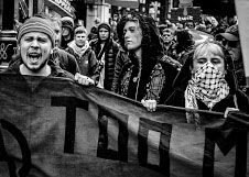 2. FACES OF PROTEST - LONDON