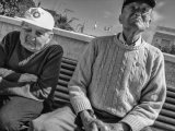 Elderly Couple In The Sun