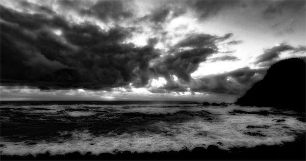SEA DAWN AT BALLINA - AUSTRALIA