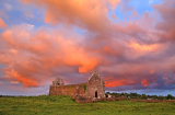 Stormy Sky over Fenagh Abbey