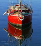 Sailboat. Mullaghmore. Co. Sligo