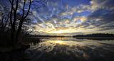 Sunrise on Garadice Lake. Co. Leitrim