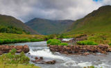 Bundorragh River. Delphi. Co. Mayo