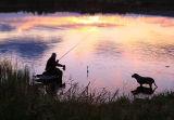 Fisherman. Camagh Lake. Co. Leitrim