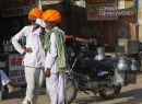 Milkmen. Early morning. Pushkar. Rajistan. India