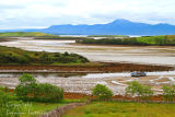 Across  Clew  Bay to Croagh Patrick
