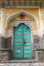 Doorway. Bundi. Rajistan. India