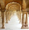 Pavillion. Amber Fort. Jaipur. Rajistan. India