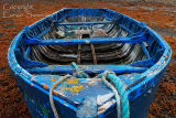 Blue  Boat. Fleetstreet. Co. Mayo