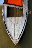 Traditional Wooden Boat. Varanassi. India