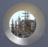Tall Ships view through The Samuel Beckett Bridge. Dublin