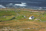 Traditional Cottage. Donegal Coast