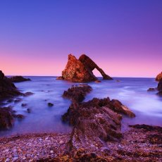 BOWFIDDLE ROCK , PORTKNOCKIE