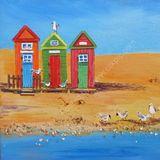 Eileen McGeown Beach huts 1