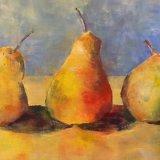 Eileen McGeown still life acrylic fruit