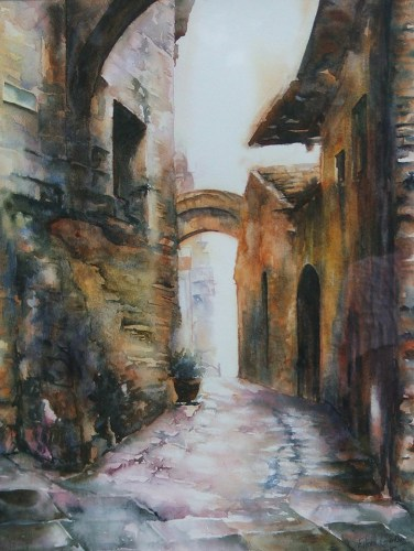 Old Street in Chianti