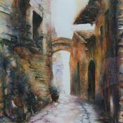 Old Street in Chianti