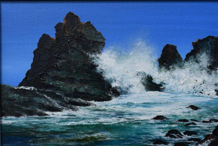 Blue Skies - Windy Sea