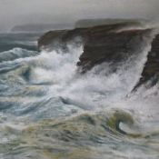 Rough Seas - Sandwick Orkney