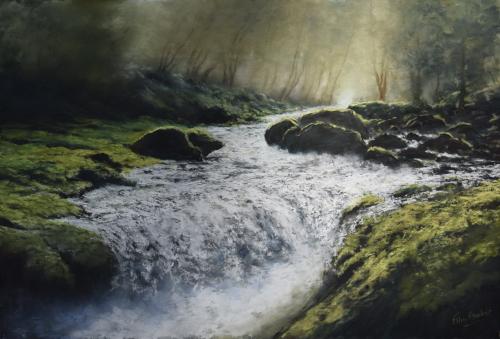Tumbling Water in the Birks