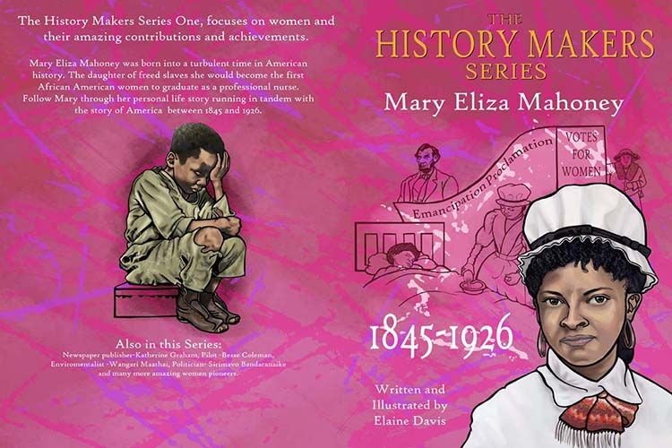 The History Makers Series Mary Eliza Mahoney Front Cover