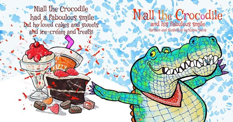 Niall the Crocodile and his Fabulous smile Front cover