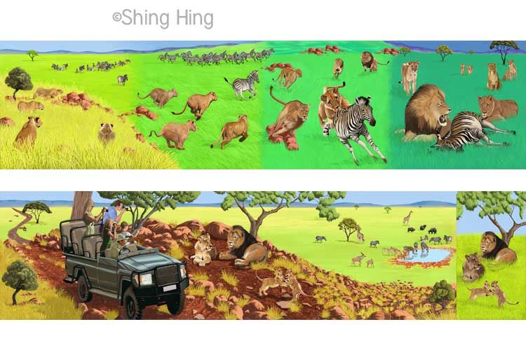 Lions and Zebras Book 2 Shing Hing Commission