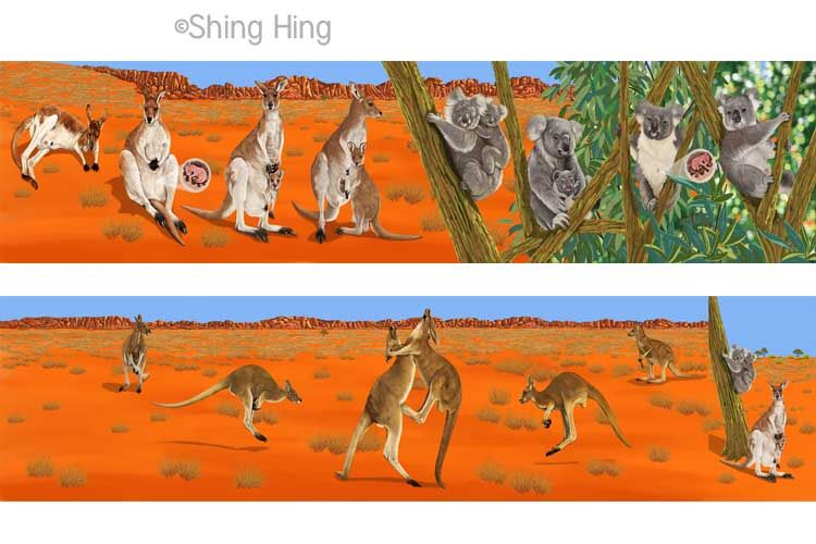 Kangaroos and Koala Bears Book 3 Shing Hing Commission