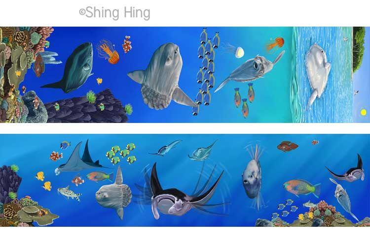 Sun Fish and Manta Ray Book 4 Shing Hing Commission