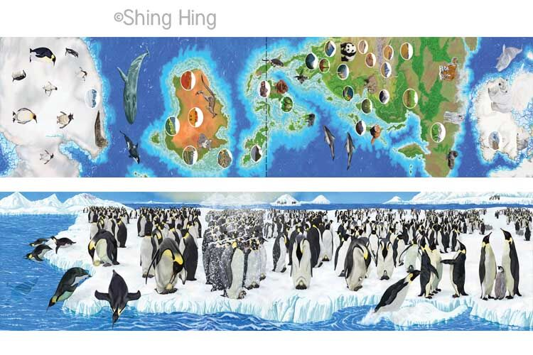 Penguins and Polar Bear Book 6 Shing Hing Commission