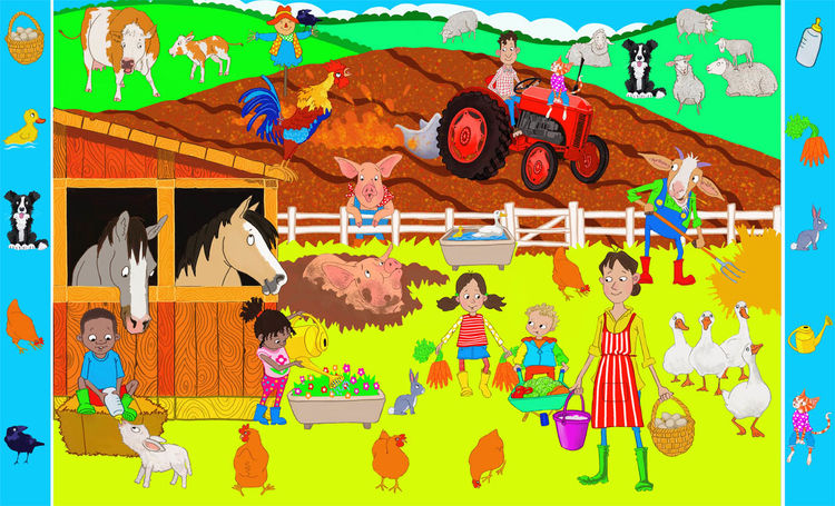 Search and Find : On the Farm