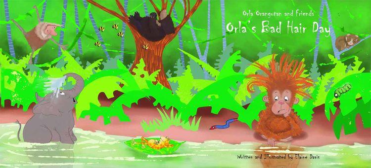 Orla the Orangutan and Friends
