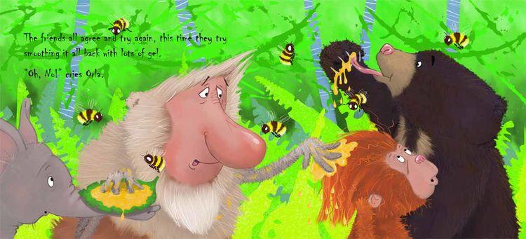 Orla the Orangutan pages 13 & 14
