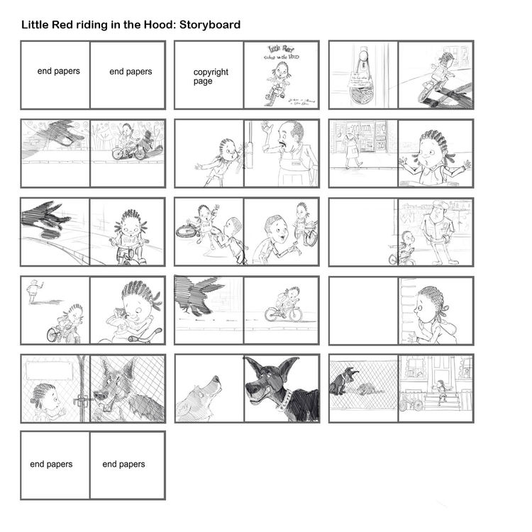 Little Red Storyboard