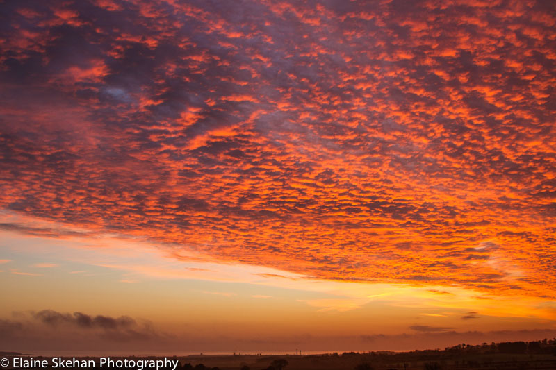 Sunrise over Skerries