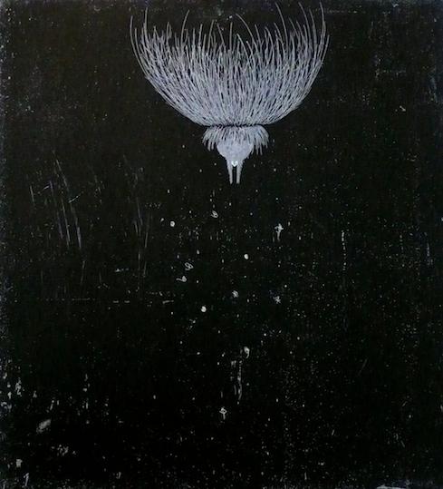 Dissicio <br> Etching, edt 15 <br> 60 x 54 cm, 2014