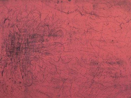 Effloresce <br> Etching, edt 6 <br> 50 x 60 cm, 2007