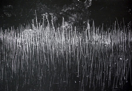 Emanation <br> Etching, edt 6 <br> 50 x 60 cm, 2007