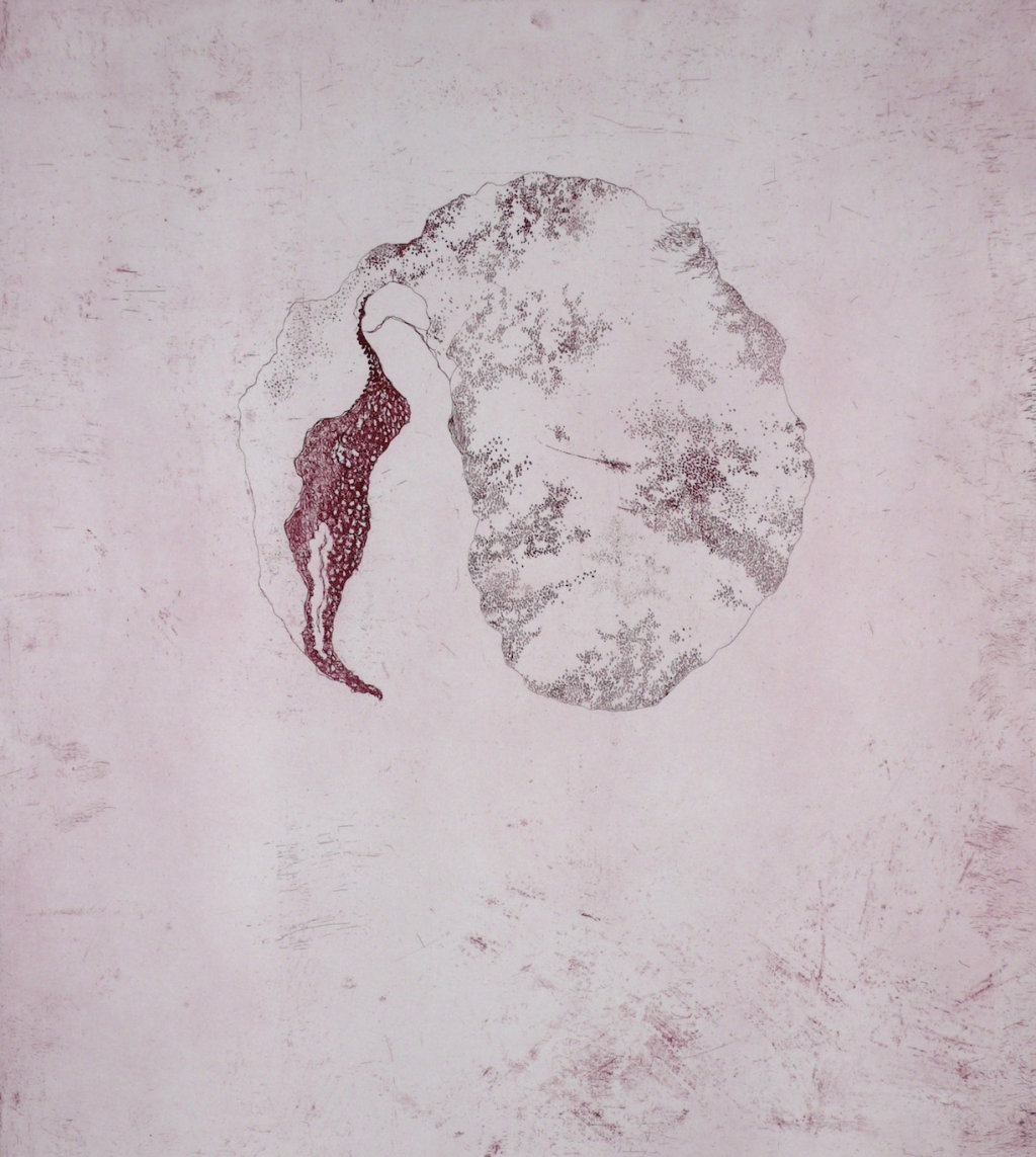 Ovular<br>Etching, edt 15 <br>60 x 54 cm, 2015