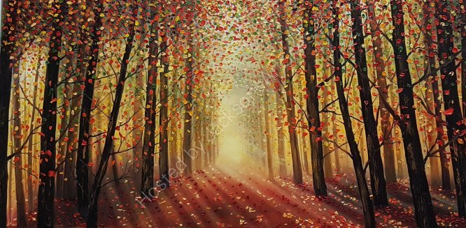 Enlightened Forest, SOLD