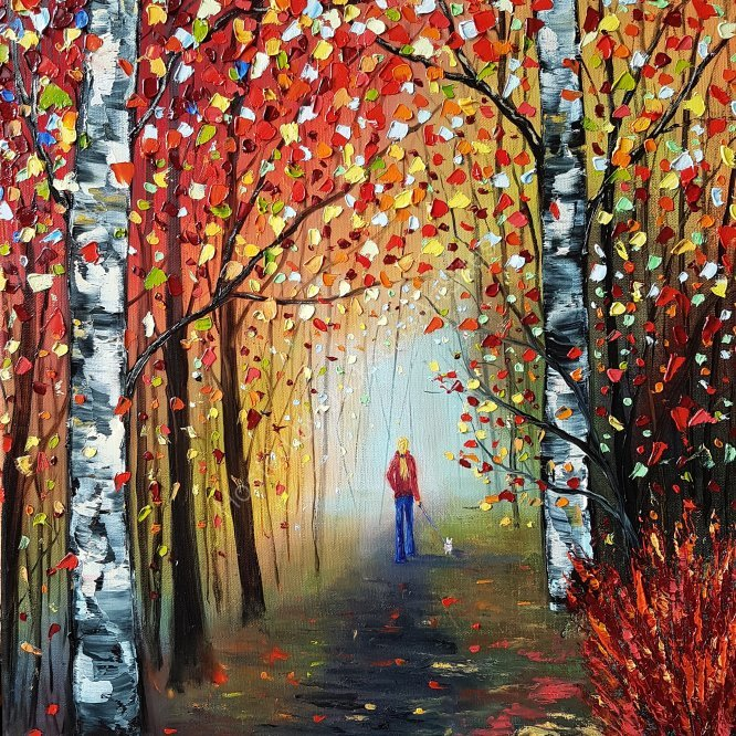 Autumn Romance, SOLD